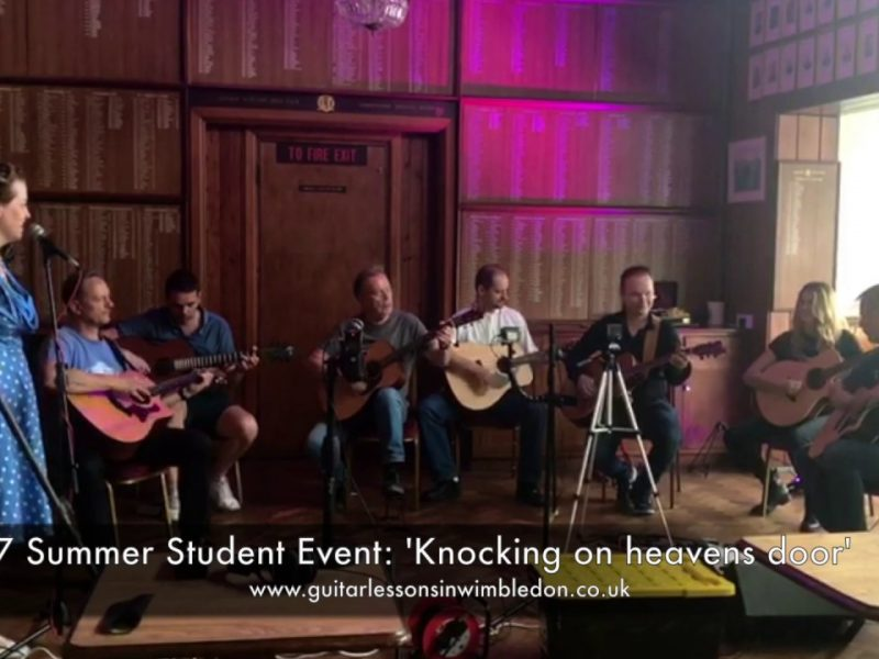 Playing Guitar Socially In Group Lessons And Private Student Events