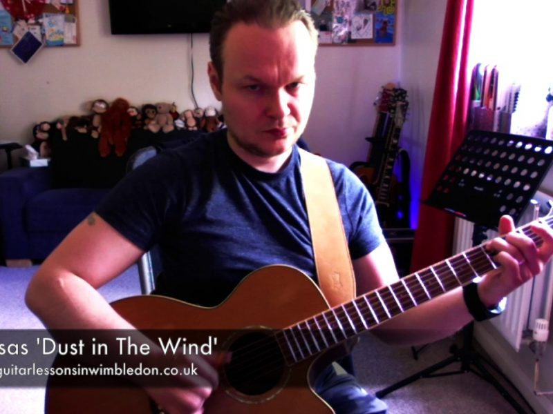 Check Out My Cover Of Dust In The Wind By Kansas