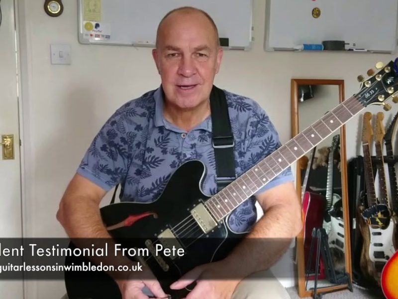 Student Testimonial From Pete