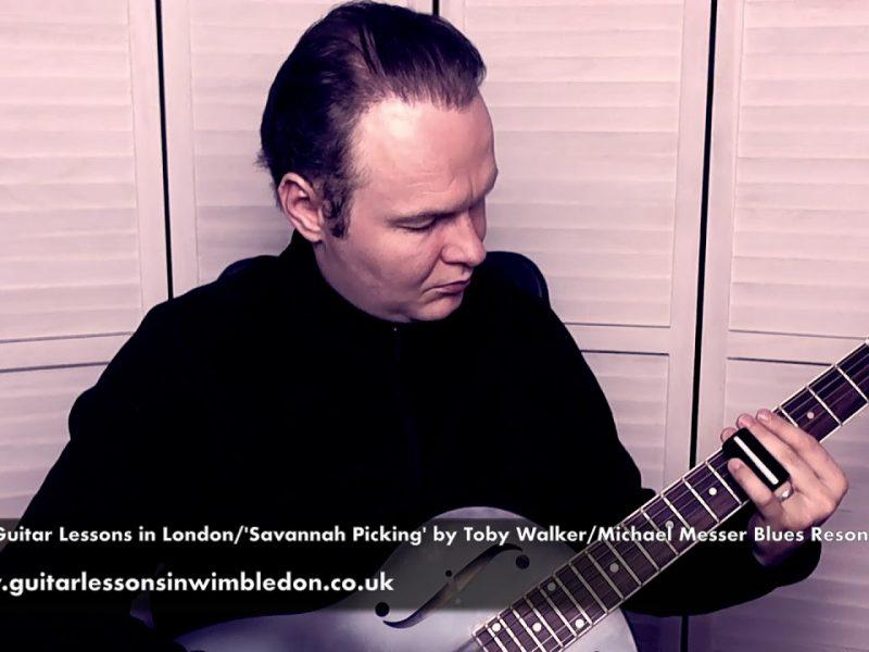 Blues Slide Guitar Lessons In London-Michael Messer Resonator Guitar